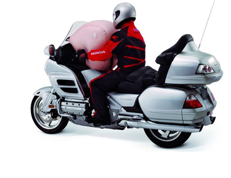 Airbag na Honda Goldwing