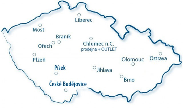 Prodejny Bikers Crown